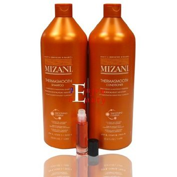 Mizani Thermasmooth Shampoo + Conditioner 33.8 oz
