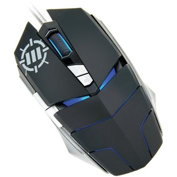 Accessory Power ENHANCE GX-M3 7-Button Optical Gaming Mouse with Adjustable Weight, 2800 DPI, and 4 LED Colors