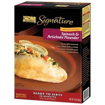 Sea Best Sb Spinach & Articoke Flounder