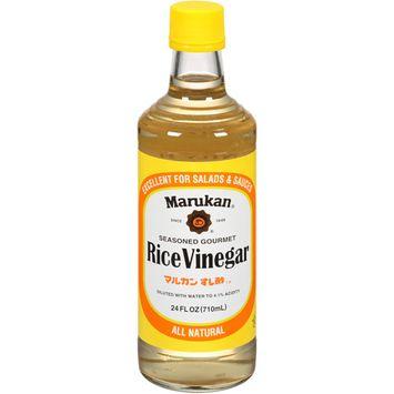 Marukan Seasoned Gourmet Rice Vinegar, 24 fl oz (Pack of 6)
