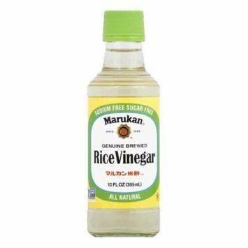 Marukan Rice Vinegar, 12 FO (Pack of 6)