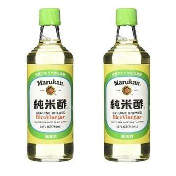 Marukan Rice Vinegar, 24 Ounce (Pack of 2)
