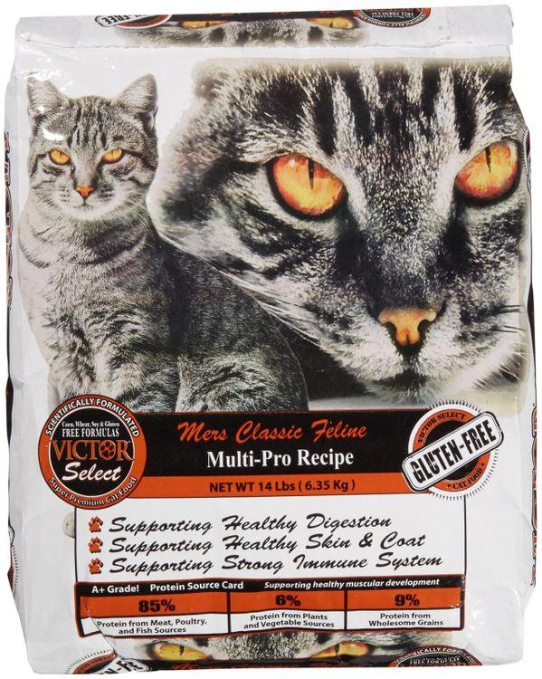 Victor Dog Food Mers Classic Feline Multi-Pro Recipe Cat Food - Chicken
