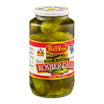 Bell-View Kosher Dills Hot & Garlic