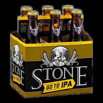 Stone Go To IPA - 6 PK