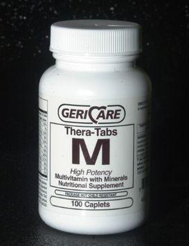Mckesson Brand Gericare Theratabs M Multivitamin Supplement with Minerals