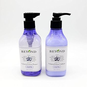 BEYOND Professional Defense SHAMPOO 250ml & CONDITIONER 250ml Set for Oily Hair