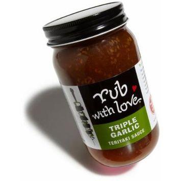 Rub with Love Triple Garlic Teriyaki Sauce By Tom Douglas, 16 Ounce