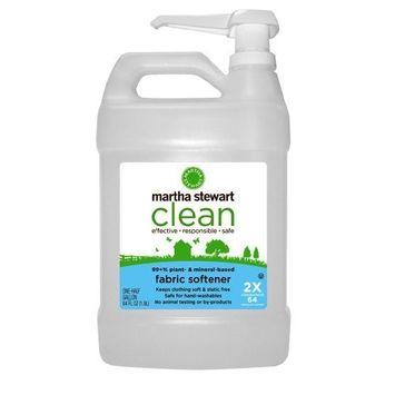 Martha Stewart Clean Fabric Softener, 64- Ounce Bottles (Pack of 6)