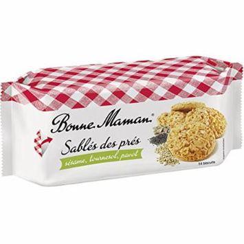 Bonne Maman Sablés des prés (150g) - 14 biscuits with poppy, sesame and sunflower seeds