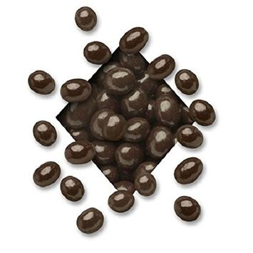Chocolate Covered Coffee Espresso Beans (Sugar Free Dark Chocolate, 1 LB)