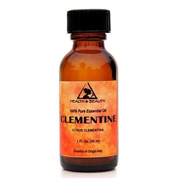 Clementine Essential Oil Organic Aromatherapy Therapeutic Grade 100% Pure Natural 1 oz, 30 ml