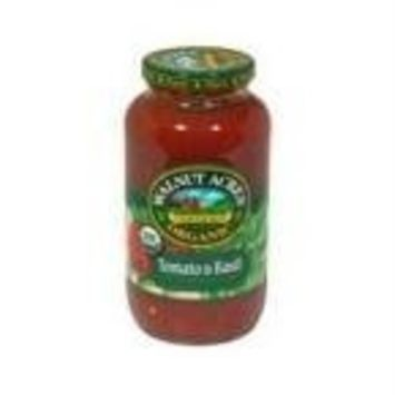 Walnut Acres Organic Pasta Sauce Tomato And Basil -- 25.5 fl oz