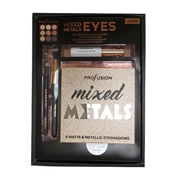 PROFUSION Mixed Metals & Eyes Palette - Amber