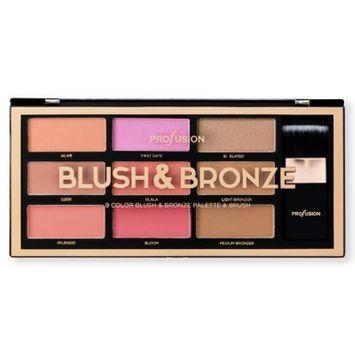 Profusion Cosmetics Blush & Bronze Palette - 9.30z