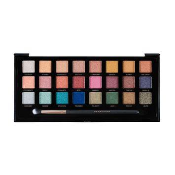 Profusion Cosmetics Metallics 24 Shade Eyeshadow Palette 9.3 oz, Mettalics