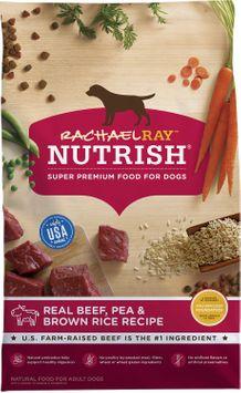 Rachael Ray™ Nutrish® Real Beef, Pea & Brown Rice Recipe