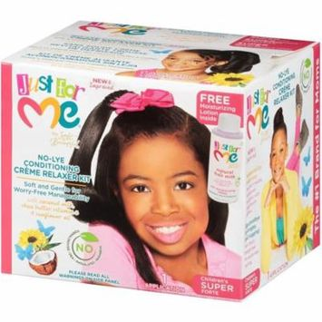 6 Pack - Soft & Beautiful Just for Me No-Lye Conditioning Creme Relaxer Kit-Children's Super 1 ea