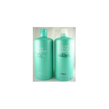Clay Esthe Ex Shampoo 35 Oz & Pack 35 Oz Pump Set