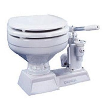 Raritan Hi-Boy Electric Toilet - White Household Style Bowl - 12v