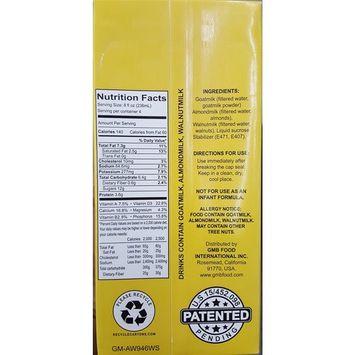 GAW Goat milk Almond milk Walnut milk 3 in 1 - Made in USA. 32 Oz Fl/pack (6 Packs per Case)