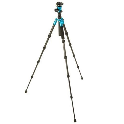 Flashpoint 3Pod P5CRH 5-Section Carbon Fiber Compact Tripod with K3 BallHead