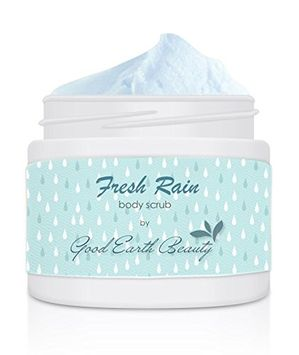 Body Scrub Fresh Rain - all natural sugar scrub by Good Earth Beauty
