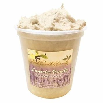 Body Scrub - Exfoliating Shower Whip & Scrub Lavender Vanilla