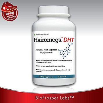 Bioprosper Labs Hairomega DHT Blocker Hair Loss Supplement, 90-count Bottle, 45 Day Supply