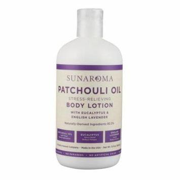 Sunaroma Body Lotion - 13oz / Patchouli Eucalyptus