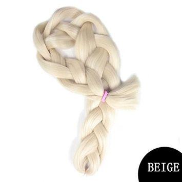 Creazy Fiber Material Braids Bulk Hair Braiding Hair Style Synthetic Hair Crochet Braid