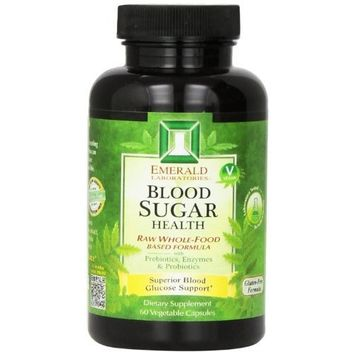Emerald Laboratories Blood Sugar Health Vegetable Capsules, 60 Count