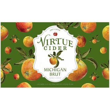 Virtue Michigan Brut Dry Hard Cider 2