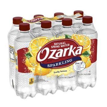 Ozarka Lemon Mineral Water - 8pk/16.9 fl oz Bottles