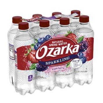 Ozarka Triple Berry Mineral Water - 8pk/16.9 fl oz Bottles