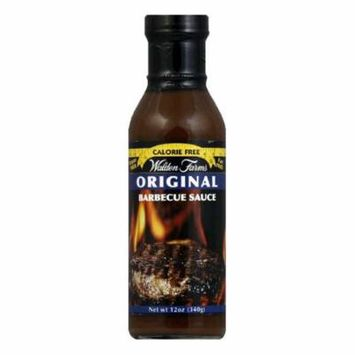 Walden Farms Sauce BBQ Sugar & Calorie Free No Carb, 12 OZ (Pack of 6)
