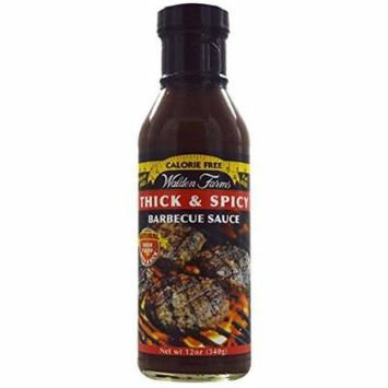 by Walden Farms Walden Farms 0 Calorie 0 Fat 0 Sugar Barbecue SauceThick & Spicy - 340 grams
