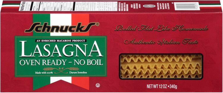 Schnucks® Oven Ready No Boil Lasagna Pasta