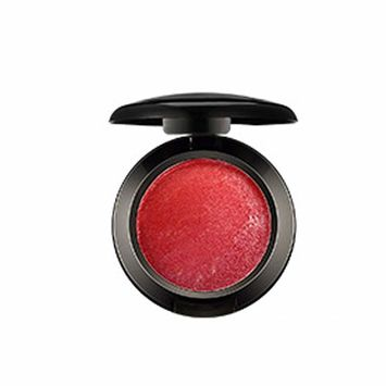 Mallofusa Single Shade Baked Eye Shadow Powder Palette Glitter Makeup Kit in Shimmer 15 Metallic Colors (Red Berry) 8g/0.28oz