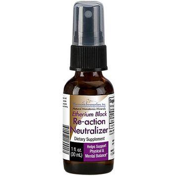Etherium Black (The Purifier) Homeopathic Essence Harmonic Innerprizes 1 oz Spra