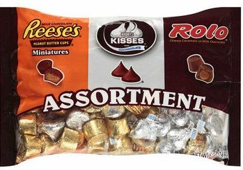 Hershey's Reese's Miniatures and Rolo Caramels Assortment
