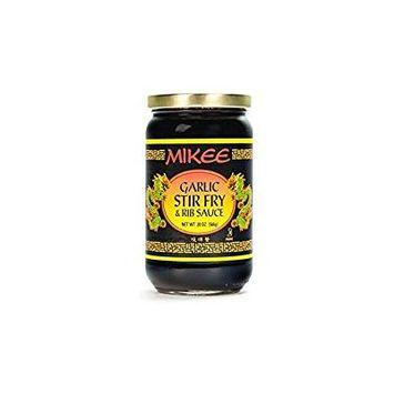 MIKEE Garlic Stir Fry & Rib Sauce Gluten Free 20 Oz. Pack Of 3.