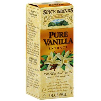 Spice Islands Pure Vanilla Extract, 2 oz (Pack of 3)