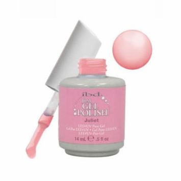 IBD Just Gel 0.5oz Soak Off Nail Polish Pink, JULIET SHEER, 56547