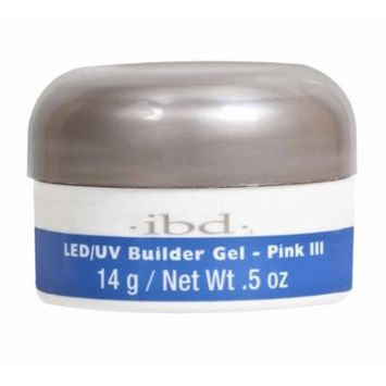 IBD LED/UV Nail Polish, Pink III 72163, 0.5 Ounce