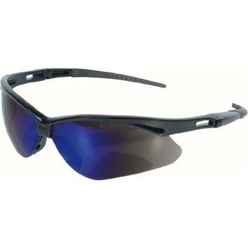 Jackson Safety 3000358 Nemesis Safety Glasses Black Frame / Blue Mirror Lens [1]