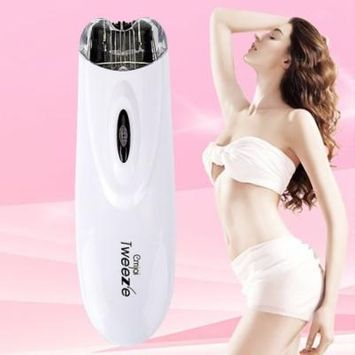 Mini Electric Pull Tweeze Device Women Hair Removal Epilator Facial Trimmer on Clearance