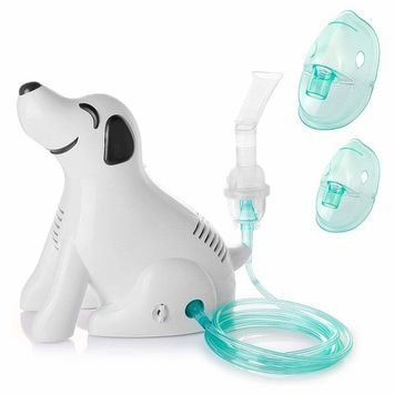 RoyAroma Personal Cool Mist Inhaler Compressor System for Child Adult-FDA & ETL Certified-120V/60HZ