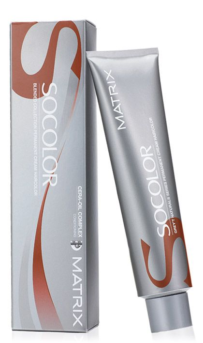 Matrix Socolor Blended Collection Permanent Hair Color Cream