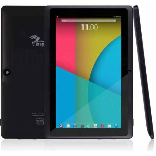"""Tablet-express Dragon Touch 7"""" Quad Core Android Tablet - Black"""